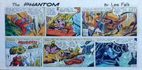 The Phantom by Lee Falk & Sy Barry - color Sunday comic page - March 27, 1966