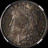 1890-CC Morgan Silver Dollar NGC MS62 Nice Eye Appeal Nice Luster Nice Strike