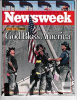 NEWSWEEK SPECIAL REPORT MAGAZINE SEPT 24,2001 AFTER THE TERROR GOD BLESS AMERICA