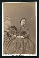 SIGNED CDV PHOTO PRINCESS LOUISE DUCHESS OF ARGYLL HILLS & SAUNDERS LORNE