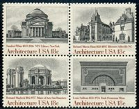 #1928-31 18¢ AMERICAN ARCHITECTURE LOT OF 100 MINT STAMPS SPICE UP YOUR MAILINGS