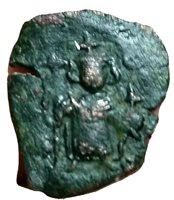 Constans II Basileus 641 - 668 AD, Lower case M. BYZANTINE EMPIRE