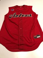 Game Worn Used San Diego State Aztecs Baseball Jersey Nike XL #35