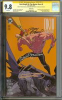 DARK KNIGHT III: THE MASTER RACE #8 CGC 9.8 WHITE PAGES