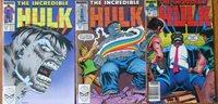 The Incredible Hulk #354 #355 #356 Marvel 1989 Comic Books