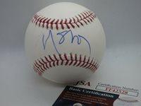 N. Scott Momaday *Pulitzer Prize Winner* Signed OMLB Baseball JSA Cert (BSB667)