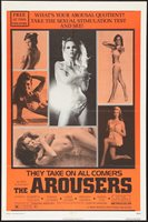 THE AROUSERS orig 1972 SEXPLOITATION one sheet movie poster PETE GOWLAND MODELS
