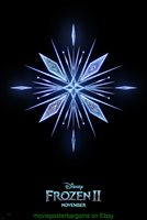 FROZEN 2 MOVIE POSTER Orig. Mint DS 27x40 Crystal Advance Style DISNEY Animation