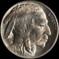 1930-P Buffalo Nickel