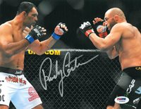 Randy Couture Signed UFC Authentic Autographed 8x10 Photo (PSA/DNA)