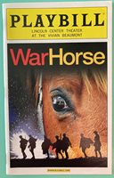 New Color Playbill War Horse Seth Numrich Matt Doyle T Ryder Smith Boris McGiver