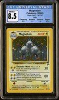 Pokemon Base Set 2 Magneton 9/130 CGC 8.5 PSA ?