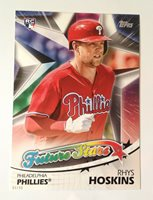 2018 Topps Future Stars 5x7 Gold (#/49 Made) - RHYS HOSKINS Phillies RC #FS-1