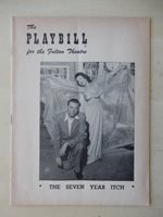 November 24th, 1952 - Fulton Theatre Playbill - The Seven Year Itch - Tom Ewell