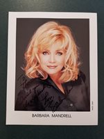 Barbara Mandrell Autographed 8x10 photo - Pose 22 - COA