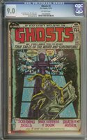 GHOSTS #3 CGC 9.0 OW PAGES