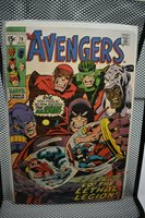 Avengers #79 Marvel Comics 1970 Lethal Legion Scarlet Witch Cap Panther 8.0