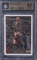 2003-04 Topps Chrome #111 LeBron James Rookie Card - BGS GEM MINT 9.5
