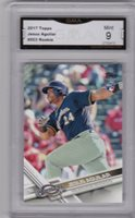 Jesus Aguilar, 2017 Toppsr RC (Brewers), Rookie!!!, GMA NM-MT 8.5