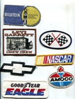 NASCAR Vintage Auto Race Uniform Patch Lot