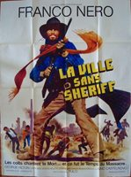 BRUTE AND THE BEAST French Grande movie poster 47x63 WESTERN FRANCO NERO FULCI