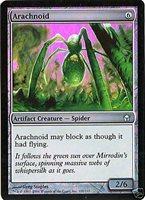 Arachnoid x4 Fifth Dawn MtG NM pack fresh