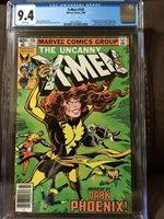 X-Men #135 CGC 9.4 White pages Dark Phoenix Cover NEWSSTAND
