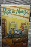 Rick and Morty #40 Natalie Riess Cover B Variant Oni Press 2018 Adult Swim 9.4