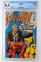 Flash #189 - CGC 8.5 VF+ DC 1969 - Kid Flash App!
