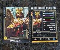 SERIES 2: Injustice Dave & Busters 73 Non-Foil Card REGIME HAWKGIRL AND