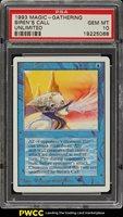 1993 Magic The Gathering MTG Unlimited Siren's Call U B PSA 10 GEM MINT (PWCC)