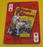 RETRO WONDER WOMAN NM CARD COLLECTIBLE DC COMICS ***FREE SHIPPING CANADA USA W55