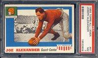 1955 Topps AA All American Football Joseph Alexander #41 PSA 7