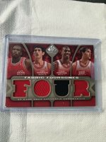 a404395a2713 2009 SP Game Used Deng Hinrich Thomas Gray 12 50 Chicago Bulls Fabric  Foursomes