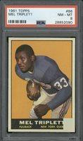 1961 Topps #86 Mel Triplett PSA NM-MT 8