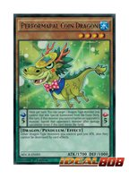 x3 Performapal Coin Dragon 1st Edition Gem-Mint Rare MACR-EN005