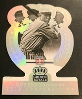 2015 Panini Cooperstown Crown Royale ROGERS HORNSBY Cardinals HOLO SILVER #08/75
