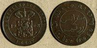 Netherlands E. Indies : 1908 1 Ct #307.2 VF IR816