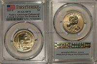 2019 P Enhanced Native Sacagawea Dollar $1 PCGS SP70 FIRST STRIKE Position B