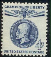 #1147, 4¢ T.G. MASARYK CHAMP. OF LIBERTY LOT 400 MINT STAMPS SPICE YOUR MAILINGS