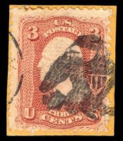 #94 Used on piece with a black Corry, Pa. eagle cancel