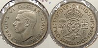 GREAT BRITAIN 1944 Florin -- #:WC79523
