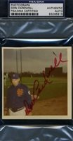 DON CARDWELL 1969 METS PSA/DNA SIGNED ORIGINAL PHOTO CERTIFIED AUTOGRAPH