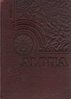 College Yearbook Bridgewater State Teachers College Bridgewater MA Alpha 1951