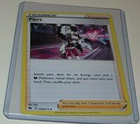 POKEMON CARD COLLECTIBLE NM IN TOP LOADER PIERS **FREE SHIPPING ***