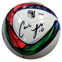 Carli Lloyd Hand-Signed Soccer Ball With Certificate Of Authenticity