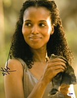 Kerry Washington Signed Django Unchained Autographed 11x14 Photo PSA/DNA #Y34570
