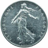 COIN / FRANCE / 1 FRANC 1999 UNC #WT24239