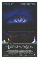 LAWNMOWER MAN MOVIE POSTER Original SS N.Mint 27x40 1992 SCI-FI FILM