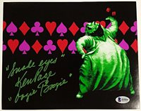"KEN PAGE Signed 8x10 Photo Disney ""Snake Eyes"" OOGIE BOOGIE w/ Beckett COA"